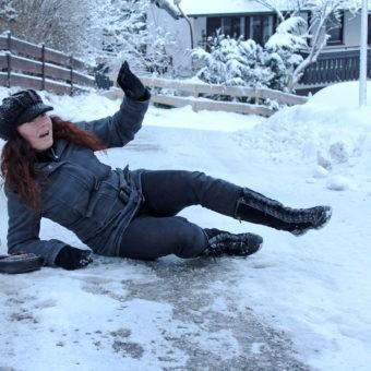 Unfall auf Eis